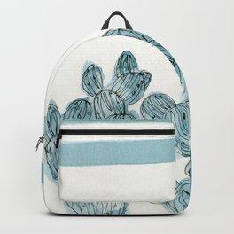 Rainbow  turquoise cactus Backpack