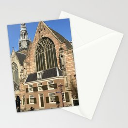 The Old Church of Amsterdam Stationery Cards