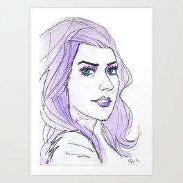 E Frost Art Print