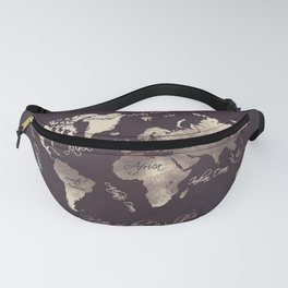 world map 18 Fanny Pack