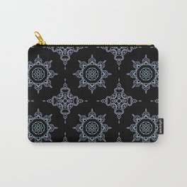 winter star hand drawn kaleidoscope Mandala Carry-All Pouch