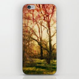 The trees whispered to me iPhone Skin