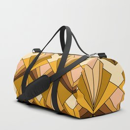 Art Deco meets the 70s - Large Scale Duffle Bag