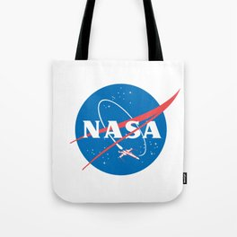 Nasa x Wing fighter Tote Bag