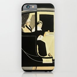 "C Coles Phillips ""Flanders Colonial Electric"" Vintage Car iPhone Case"