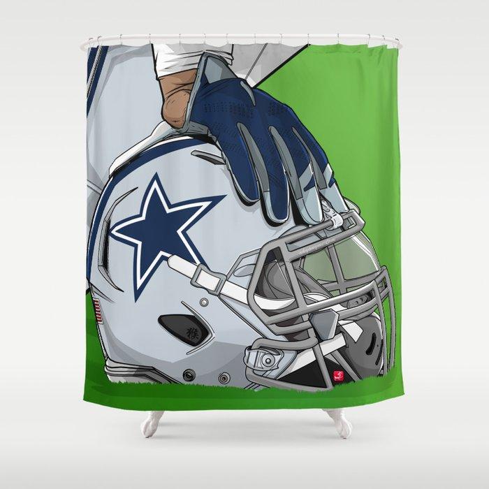 Dallas Football Shower Curtain