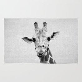 Giraffe 2 - Black & White Rug
