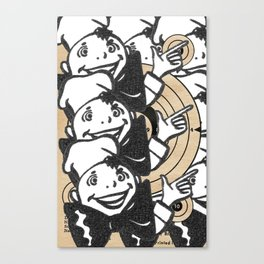 Hot and Targeted Canvas Print