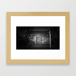 The Christchurch Electricity Substation Project VIII Framed Art Print