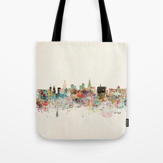 las vegas skyline by bribuckley