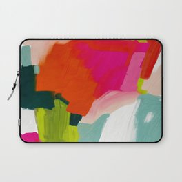 abstract pink art Laptop Sleeve