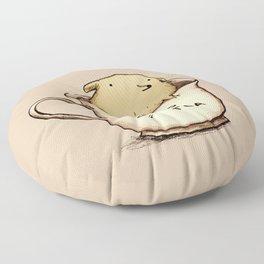 Pup of Tea Floor Pillow
