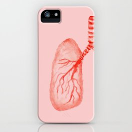 Human lungs iPhone Case