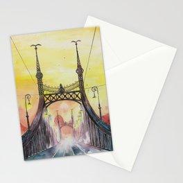 Budapest - Liberty Bridge Stationery Cards