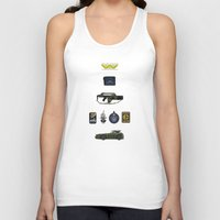 aliens Tank Tops featuring Aliens by avoid peril