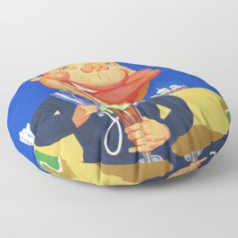 Oh, I do like to be beside the Seaside. Floor Pillow