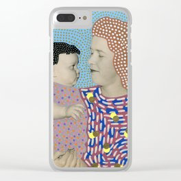 Telepathic Understanding Clear iPhone Case