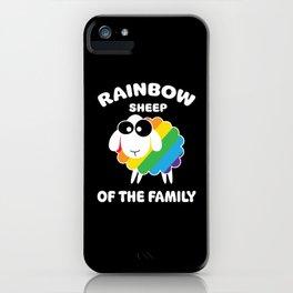Rainbow Sharp iPhone Case