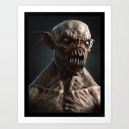 Monster I Art Print