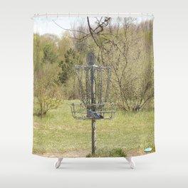 Brown Park Disc Golf Course Shower Curtain