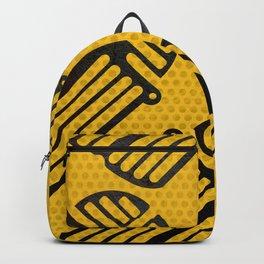 Scarab Pattern Backpack