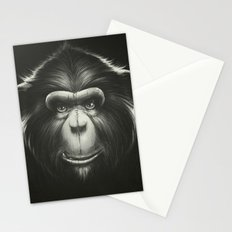 Monkee with Tooth Stationery Cards