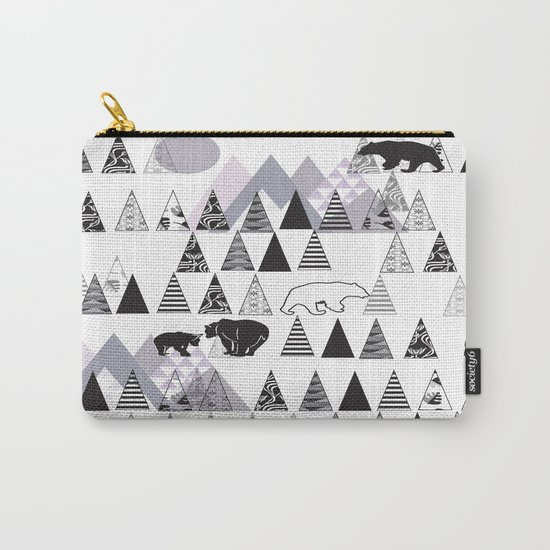 Mountain Bears No. 1 Carry-All Pouch