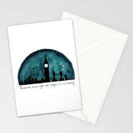 The Road to Neverland Stationery Cards