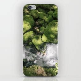 Feel the Wetness in the Air iPhone Skin