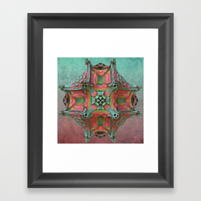 That Odd Flower Framed Art Print