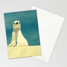 posing gull Stationery Cards