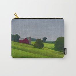 Pure Country Red Barn Art Poster Carry-All Pouch