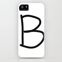 B LOVE iPhone Case