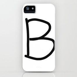 B LOVE iPhone Case