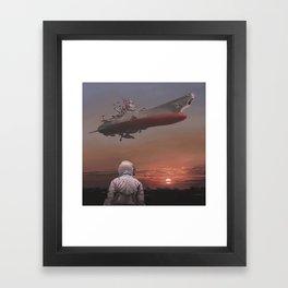 Star Blazers Framed Art Print