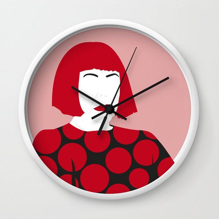 Yayoi K. Wall Clock