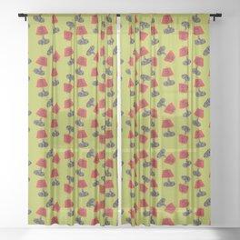 Lamp II Sheer Curtain