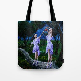 dancing in the garden of delights remix Tote Bag