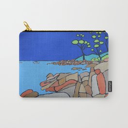 Bay of Fires Tasmania  Ocean Beach Carry-All Pouch