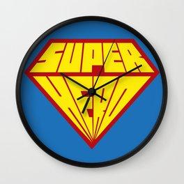 Superhero Wall Clock