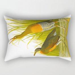 Salt Water Marsh Hen Rectangular Pillow