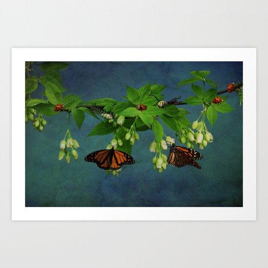 A Bugs World Art Print