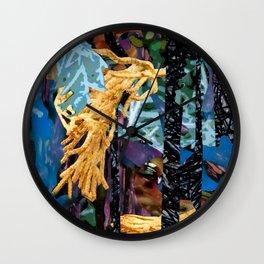 Surreal-Real Textures Wall Clock