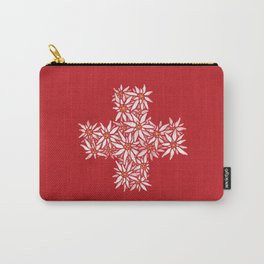 Swiss Edelweiss Carry-All Pouch