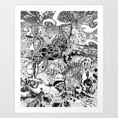 Destroyer Art Print