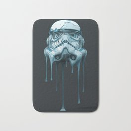 Stormtrooper Melting Dark Bath Mat