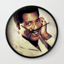 Otis Redding, Music Legend Wall Clock