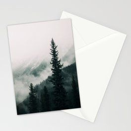 Over the Mountains and trough the Woods -  Forest Nature Photography Stationery Cards