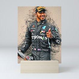 Lewis Hamilton Mini Art Print