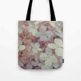 White Flower Bush Tote Bag